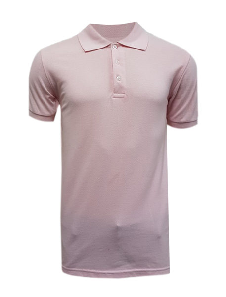 BKOHC0114_Front view Pink Polo Tee