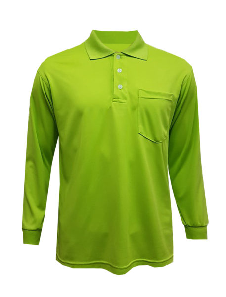 BKP_MFK (Front view Green Polo Tee)