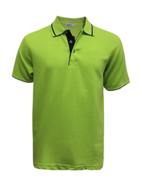 bkart007_front-view-green-polo-shirt-w-emb
